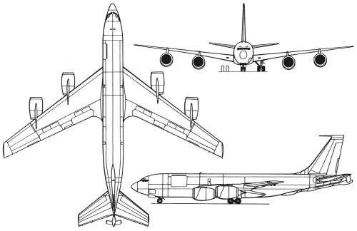Kc 135 Drawing Google Search Air Force Aircraft