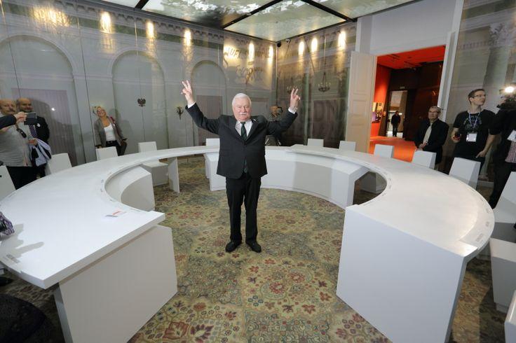 Lech Wałęsa in European Solidarity Center
