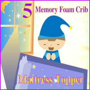 5 Memory Foam Crib Mattress Topper That Are Affordable