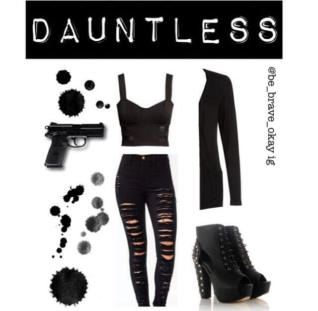 Divergent inspired outfits 1/5 ~Dauntless