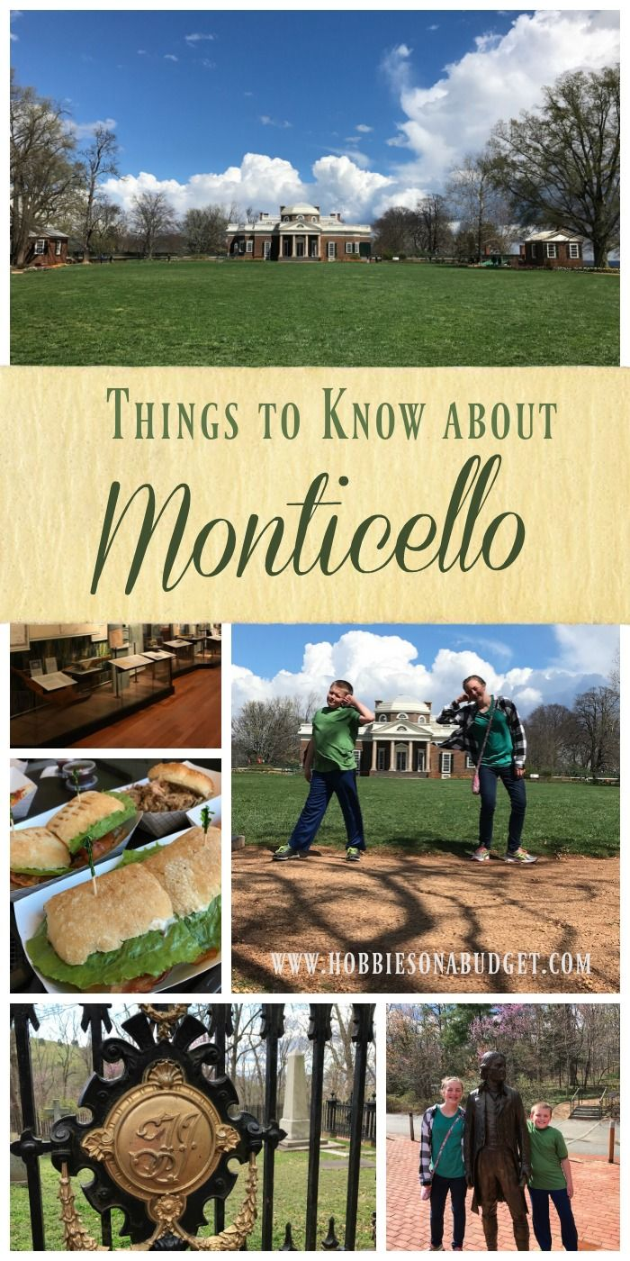 Ready to learn about President Thomas Jefferson?  Heading to Monticello?  Check out these things to know - Hobbies on a Budget