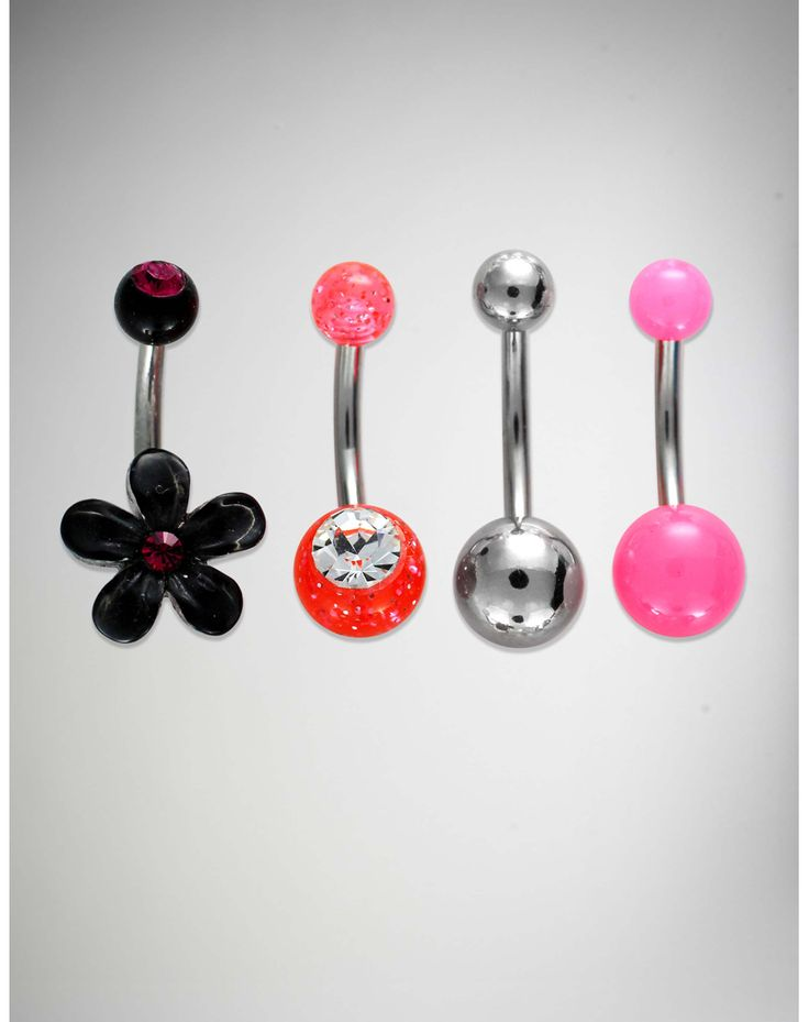 Dangle Belly Button Rings Icing
