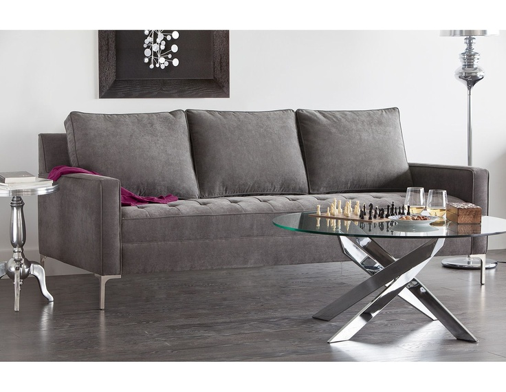 Structube   Living Room : Sofas U0026 Loveseats : Miami (Charcoal) | Living  Room | Pinterest | Living Room Sofa, Loveseats And Living Rooms