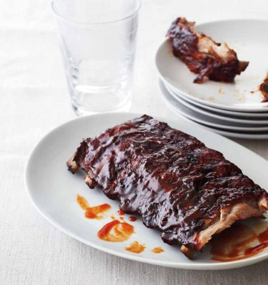 Sweet and Spicy Pork Baby Back Ribs- Become a pit master! Add this easy sweet and spicy rib recipe to your game-day lineup.