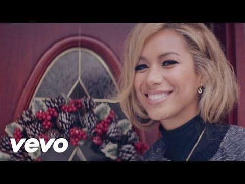 Snow is falling all around us. <3  Leona Lewis - One More Sleep - YouTube