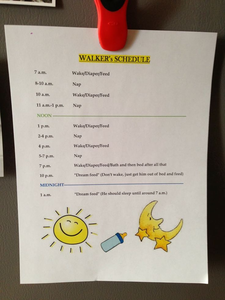 Life as the Mrs.: Putting Walker on a Schedule