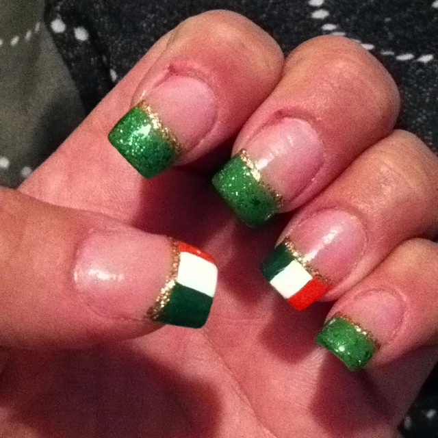My st pats nails - 194 Best Irish Nail Art Images On Pinterest Holiday Nails, Nail