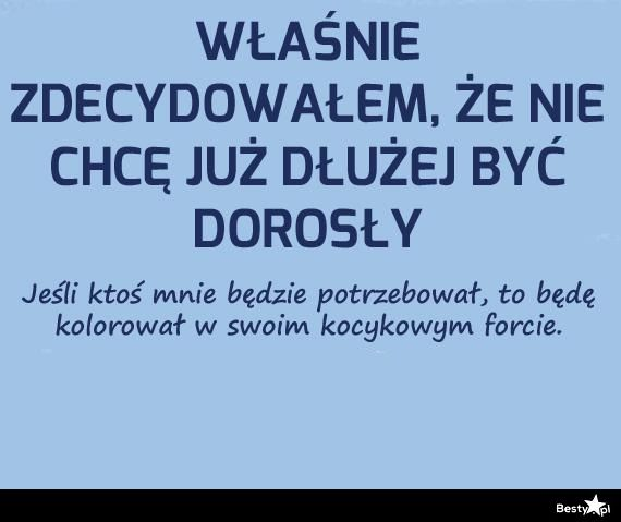 BESTY.pl - koniec bycia dorosłym