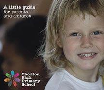 Prospectus design for Chorlton Park Primary School