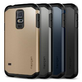 Intense Fortification - Air Cushion Technology [U.S. Patent No. D747306] Shock-absorbing TPU interior + polycarbonate exterior Raised lip of 1.5mm protects screen Military-Grade Protection MIL-STD 810G 516.6 Galaxy S5 Case Compatible with Samsung Galaxy S5 (2014)