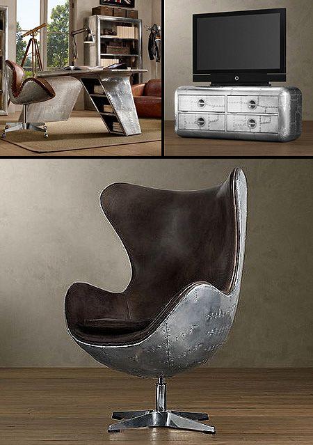 Technologie-Potpourri: Unglaubliche Möbel aus alten Teilen Flugzeug