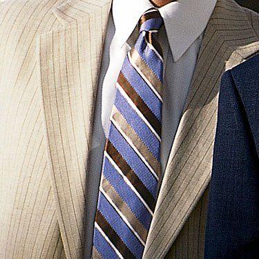 Vestito blu cravatta verde 25