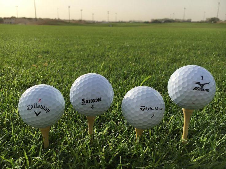 Ball test #uae #dubai #golf #ball #arabianranches #taylormade #callaway #mizuno #srixon