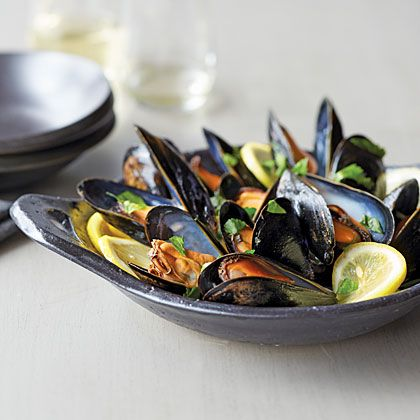 Cast-Iron Mussels Recipe | MyRecipes