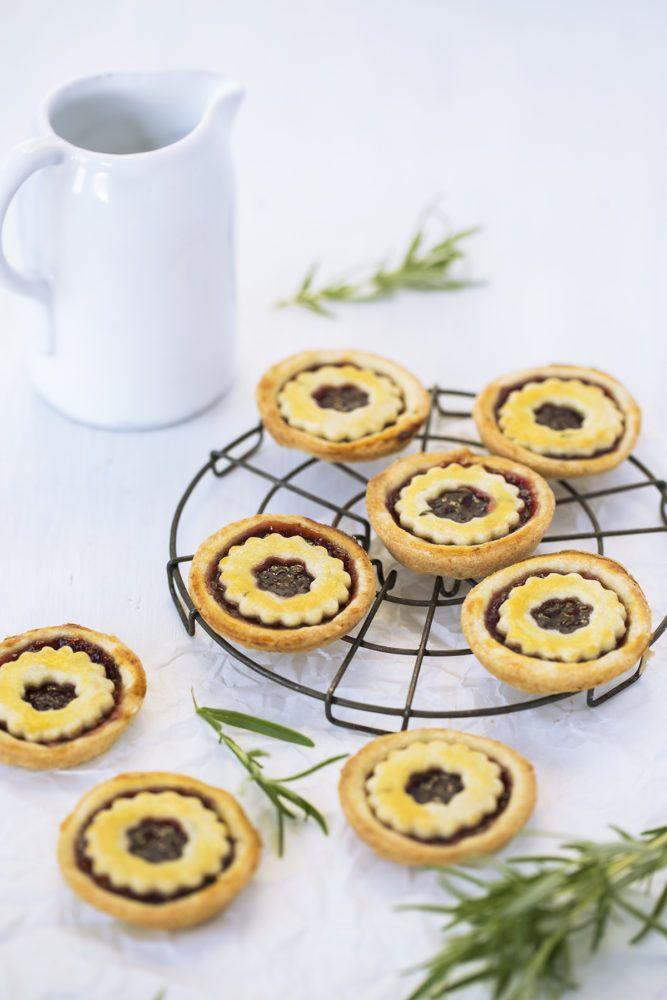Jam Tarts by Lisa Nieschlag for Liz and Jewels, Marmelade, Konfitüre, food styling, food photography