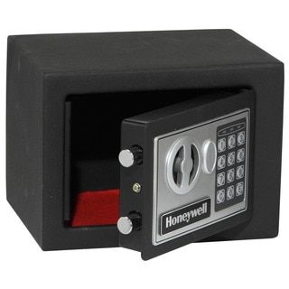 Shop for Honeywell Small Black 0.17-cubic-foot Programmable Security Safe. Get free delivery at Overstock.com - Your Online Office Furniture Store! Get 5% in rewards with Club O!