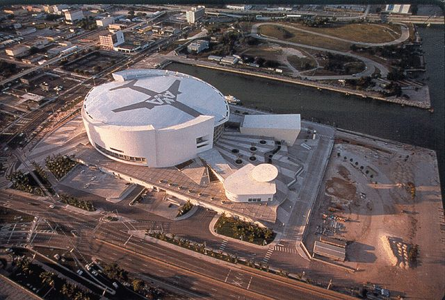 Miami Attractions: American Airlines Arena, Home of the Miami Heat