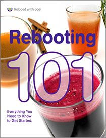 During a Reboot, you'll commit to consuming only fruit and vegetable juices for a period of time.  3 days, 5 days, 15 days, 30 days? It's your choice!  The goal is to help you break a cycle of an unhealthy lifestyle and simply enhance the quality of your diet by increasing your intake of fruits and vegetables. The results? Excess weight starts to pour off, your belly starts to flatten, your skin glows, you start to think more clearly, you start controlling a disease naturally rather than…