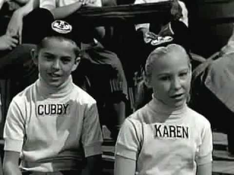 """Now it's time to say good-bye Mickey Mouse Club """"Alma Mater"""" Song 1950 Mouseketeers"""