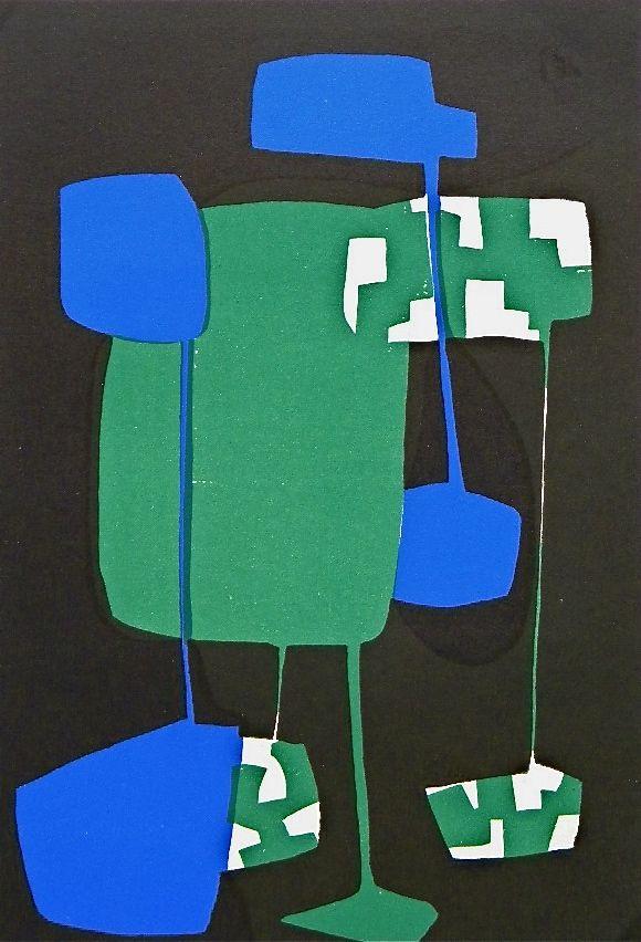 Carol Rama original serigraph   Arte Concreta, Carolrama