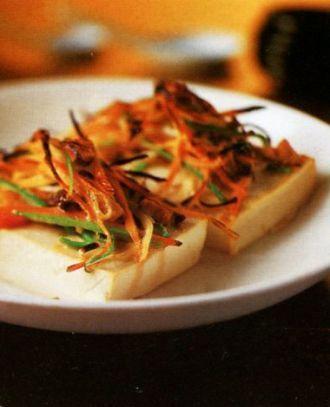 Тофу нагриле совощами Порадуй себя илюбимых вкусным тофу, снашим рецептом!
