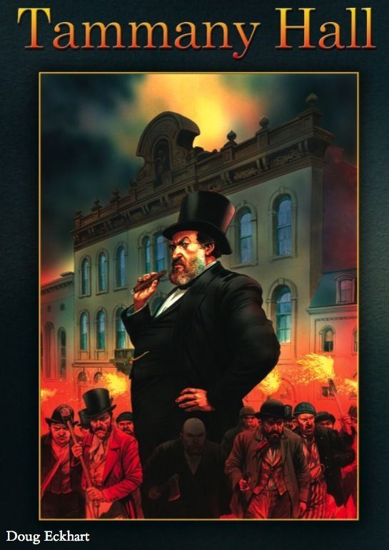 New from Pandasaurus Games: Tammany Hall