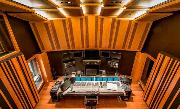 Scott Carver - Architecture and Design - The Recording Studio