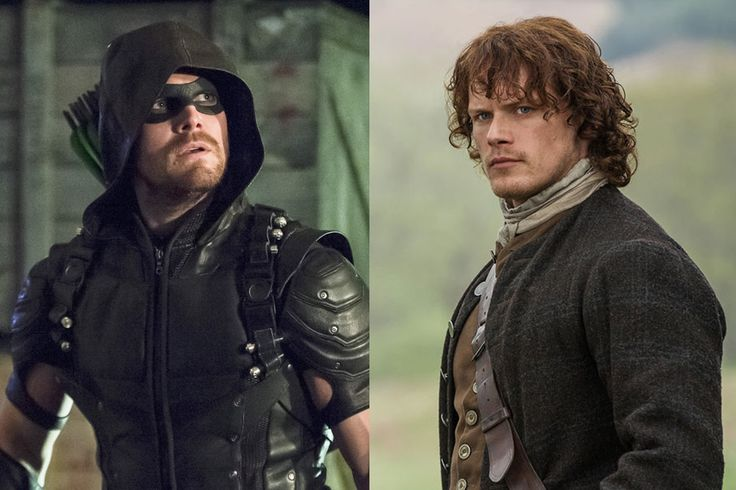 Alpha Male Madness 2016: Sam Heughan or Stephen Amell? Vote in the Final Round!  Stephen Amell, Arrow, Sam Heughan, Outlander