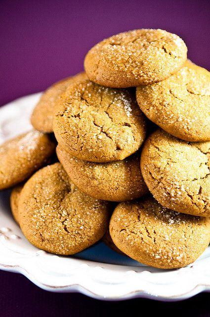 Brown Butter Ginger Cookies | COOKIES | Pinterest