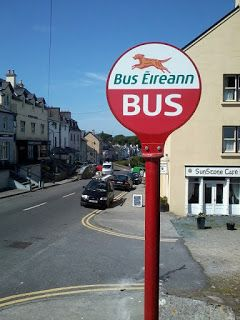 Hogans Blog: Loops and Hookers! #ireland #irish #bus #stop #signpost #buseireann #roundstone #galway #westireland #roads #villages #towns #coast #streets #transport #destinations #travel #wanderlust #mytrip #hogansblog