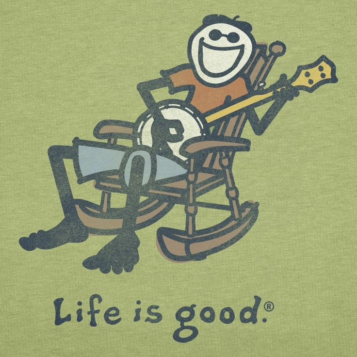 Life IS good, if you have a banjo.