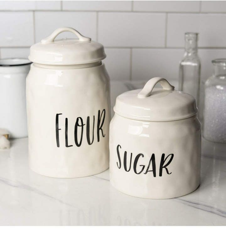 Vip Home Garden Vip Home International 2 Piece And Canisters Ceramic Kitchen Canisters Kitchen Canisters Ceramic Kitchen Canister Sets