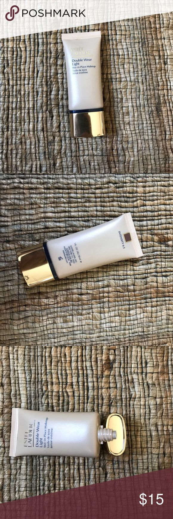 Estée Lauder double wear light foundation Estée Lauder double wear light foundation shade 6.5 Estee Lauder Makeup Foundation