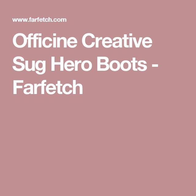 Officine Creative Sug Hero Boots - Farfetch
