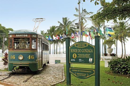 Discover Santos & Street Ferry Car #Santos #Brazil