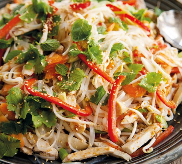 #RecipeOfTheWeek A fresh, zingy way to use up that leftover turkey http://www.annabel-langbein.com/recipes/vietnamese-turkey-salad/654/