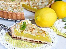 Crostata alla Crema di Limone e Mandorle   Dolcissima Stefy