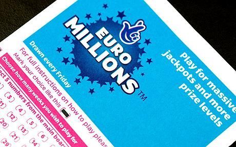 Euromillions Jackpot Win for me tonight :)
