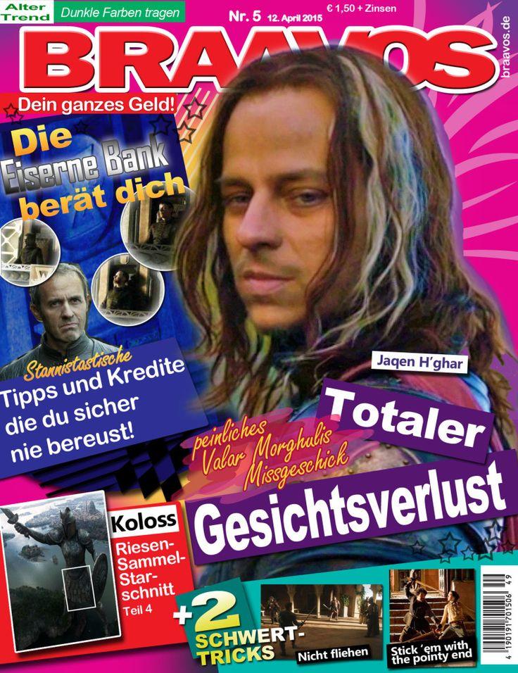Deutsche Zeitschriften bei Game of Thrones #gameofthrones
