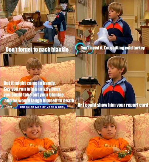 """""""Suite Life of Zack and Cody. Who else misses this?"""" ME. Very much...<-- The good old days...:)"""
