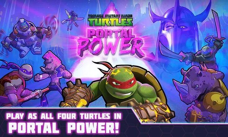 TMNT Portal Power v222 (Unlocked HP) Game, Brazil