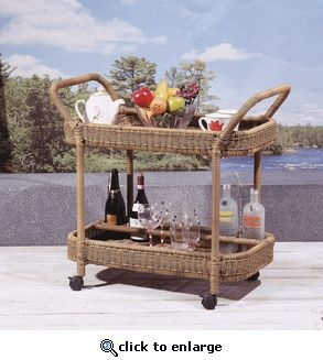 Outdoor Serving Cart (UPS $90)