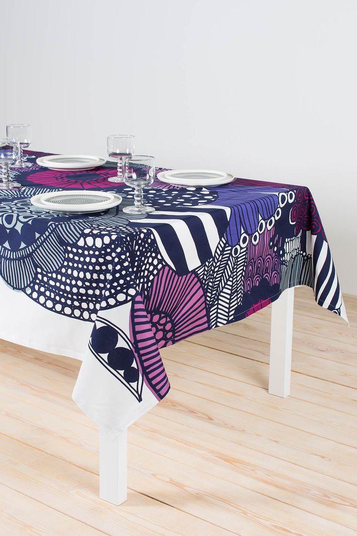 Siirtolapuutarha tablecloth    Marimekko