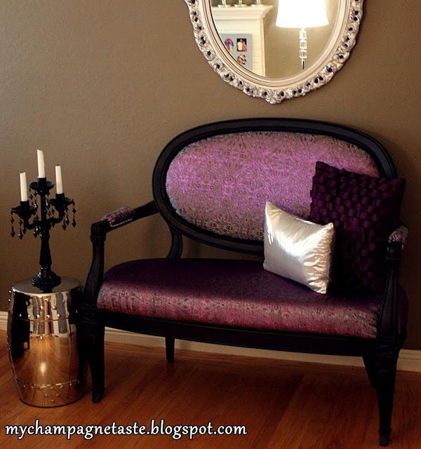 Redone chair...Love!