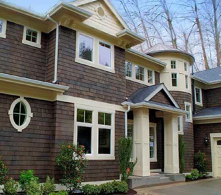Impressive Shingle Style Home Plan