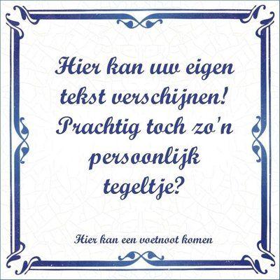 Delfts Blauw tegeltje (nr.33)