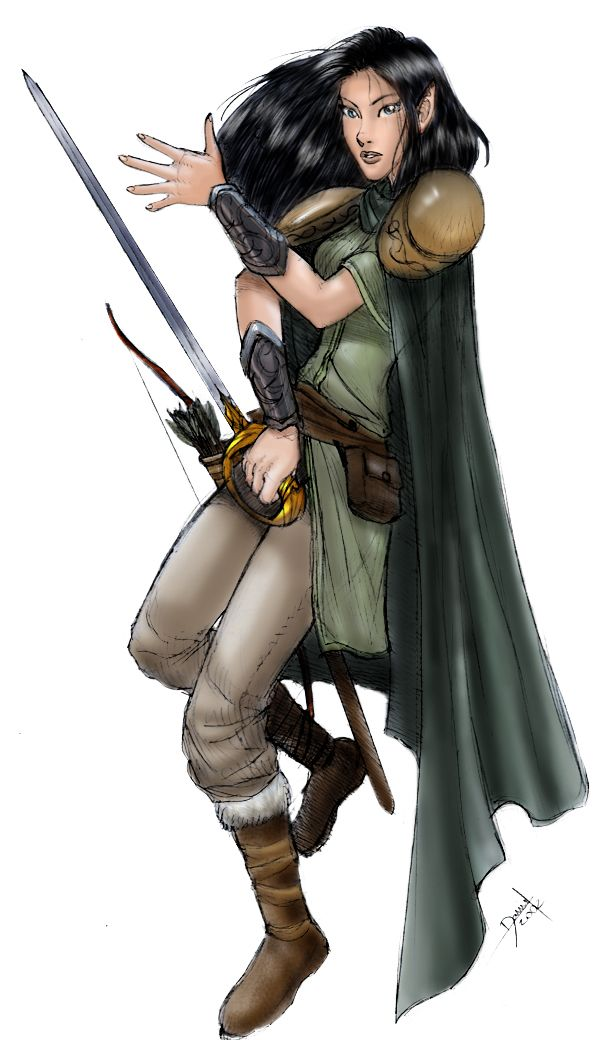 Female Elf Wallpaper - WallpaperSafari