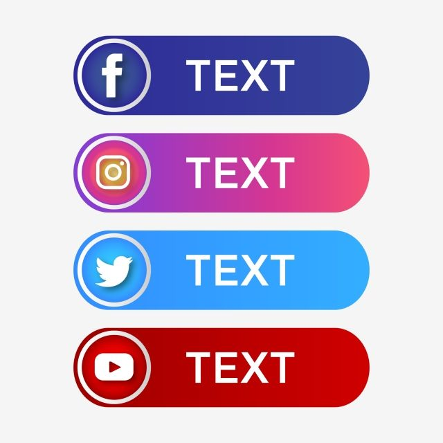 Social Media Icon Icons Facebook Like Flat Symbol Button Sign Background Logo Internet Network Set White Illustrat Social Media Icons Media Icon Instagram Logo