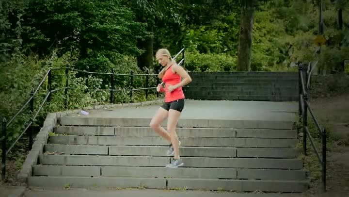 Check out my top stair exercises to target your inner and outer thighs on a set of stairs!