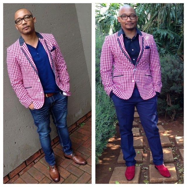One jacket + subtle changes = 2 looks